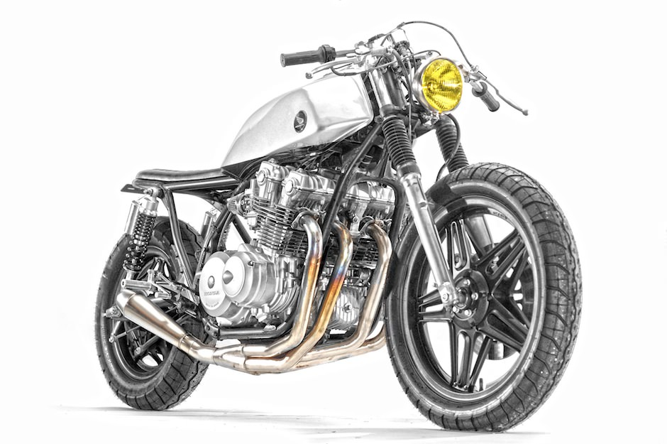 Honda CB750 by Steel Bent Customs фото кафешника кафе байк характеристика история