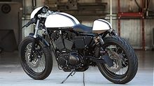 Custom Harlei Nice Cafe Racer Moto bike фото кафешника кафе байк характеристика история